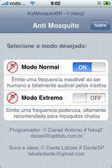 iPhone Antimosquito