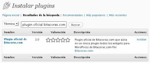 plugin-bitacoras