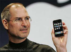 Steve Jobs, CEO de Apple
