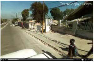 Calles de Haití en video 360