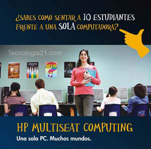 HP Multiseat Computing en Lima Perú