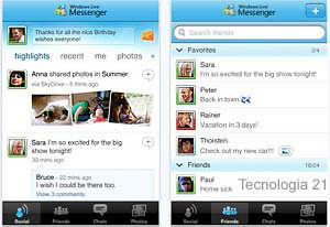 iphone y el messenger