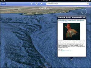 google earth para ipod touch, ipad y iphone
