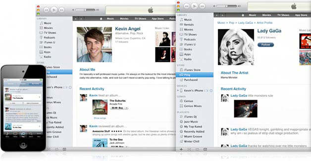 itunes 10 y ping