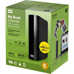 western digital usb 3.0 y 3 tb