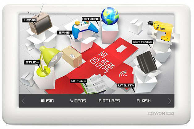 cowon 3d pmp audio video