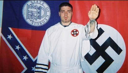facebook ku klux klan jarred hensley