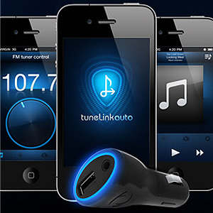 tunelink ipod touch iphone ipad bluetooth stereo transmitter fm radio