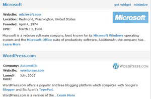 windows live spaces wordpress