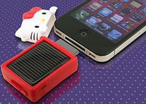 hello kitty cargador solar sanryo