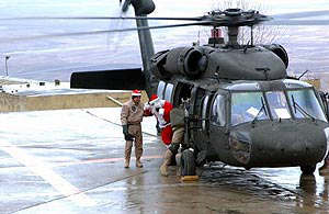 santa black hawk helicoptero helicopter chopper