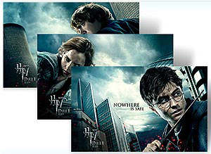 Harry Potter Windows7 tema gratis