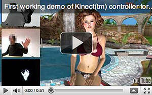 Kinect: Primer juego sexual 3D