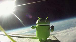 android space espacio google