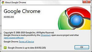 google chrome 8