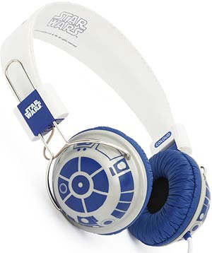 r2-d2 headphones audifonos