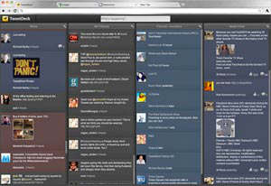 tweetdeck web app