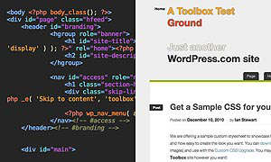 wordpress tema html5 css theme