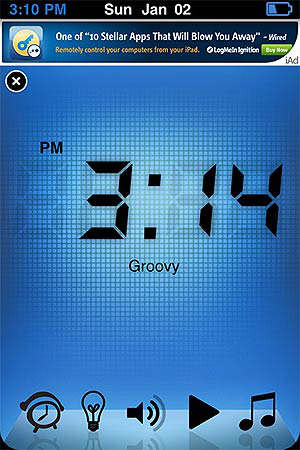 iphone app alarma alarm clock reloj
