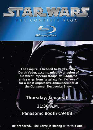 Starwars complete saga bluray ces 2011
