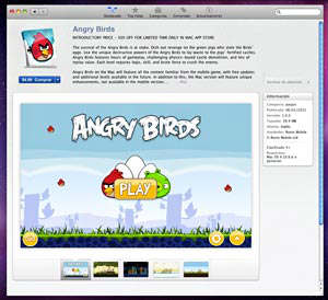 angry birds mac app store