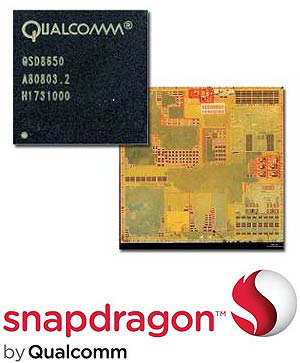 qualcomm snapdragon cpu