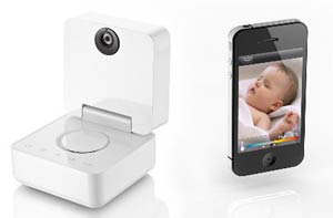 monitorear bebe con iphone
