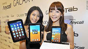 ces 2011 tablets android galaxy tab