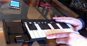 teclado musical iphone
