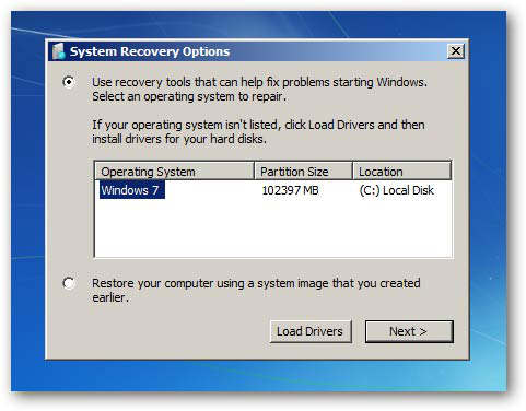 windows 7 reparar arranque