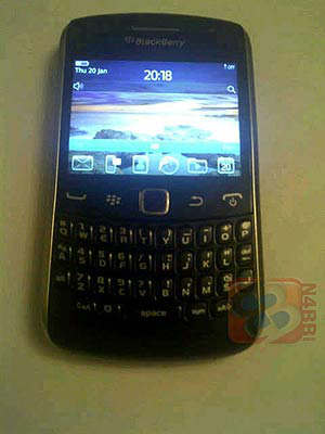rim blackberry curve 2011