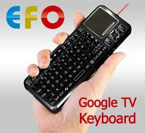efo google tv keyboard