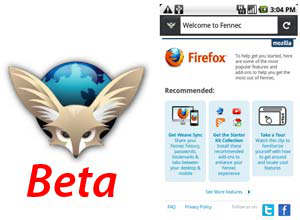 firefox 4 beta android fennec