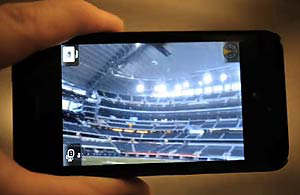 super bowl aumented reality iphone android