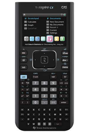 ti-nspire cx cas calculadora 3d texas instruments