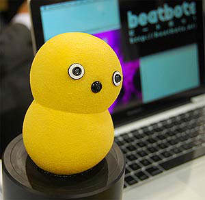 keepon dancing robot