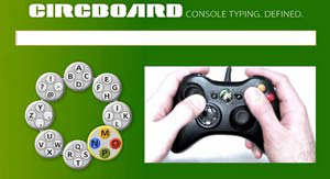 circboard xbox 360 console typing