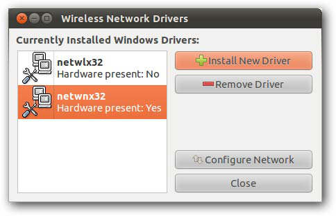 wireless driver
