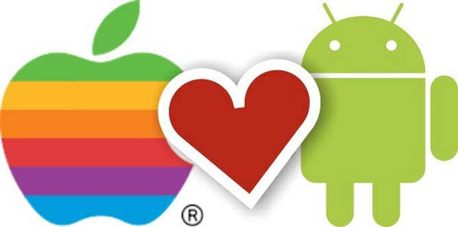 android apple