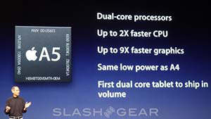 apple a5 cpu doble nucleo ipad 2