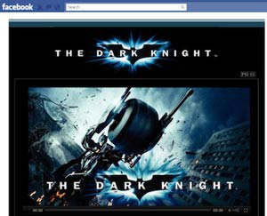 facebook the dark knight