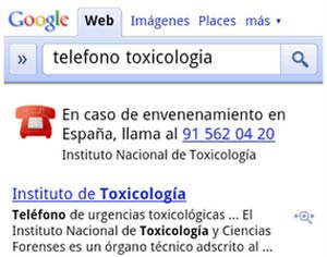 google emergencias