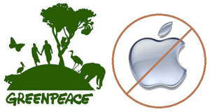 greenpeace apple dirt