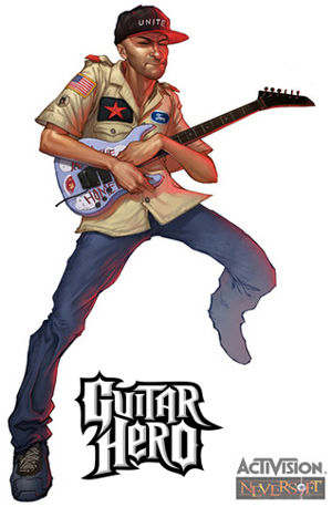 guitar hero tom morello