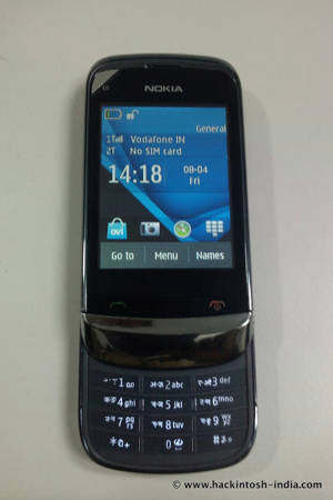 nokia c2-06 touch and type slider