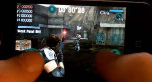 resident evil mercenaries vs iphone ipod touch