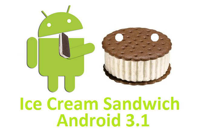 android 3.1 ice cream sandwich