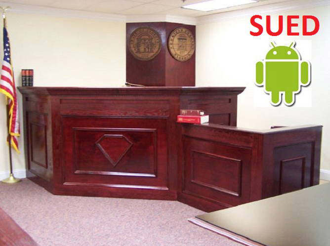 android sued