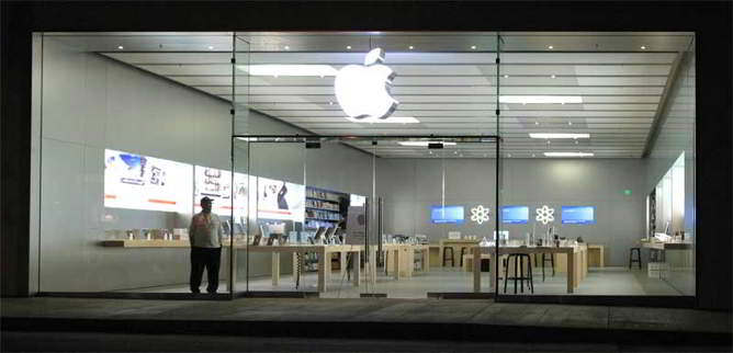 apple store a