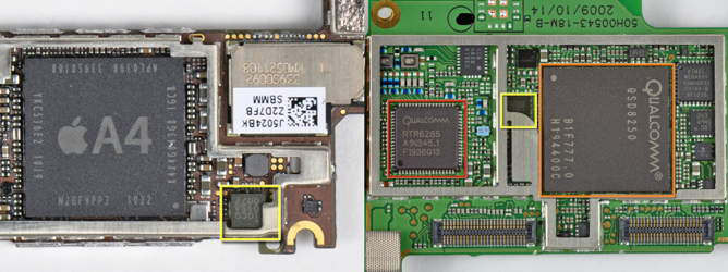 audience chip cancelacion ruido iphone 4